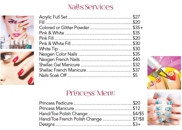 Pure Nail And Spa - Services - Nails Services